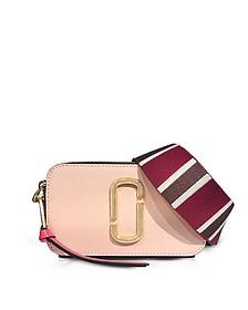 Rose Multi Color Block Snapshot Camera Bag - Marc Jacobs