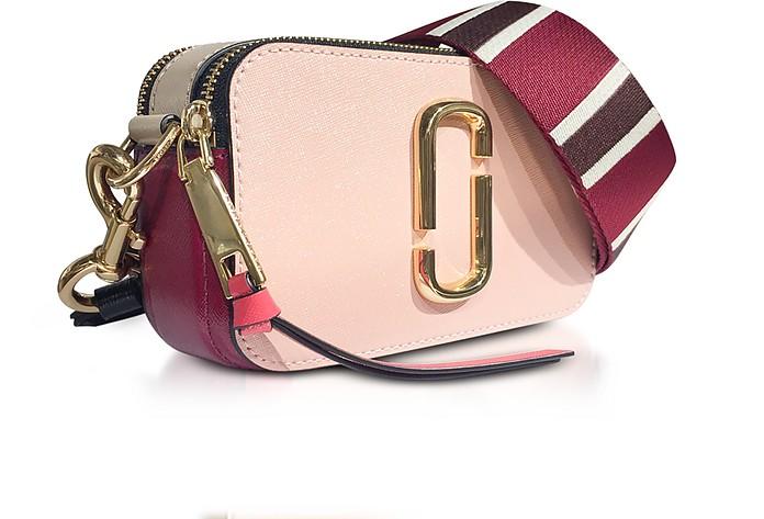 Rose Multi Color Block Snapshot Camera Bag
