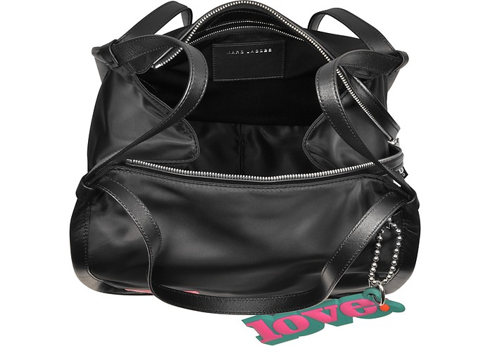 Sport Shopper in Nylon con Logo Marc Jacobs Nero 36ikbc1bd