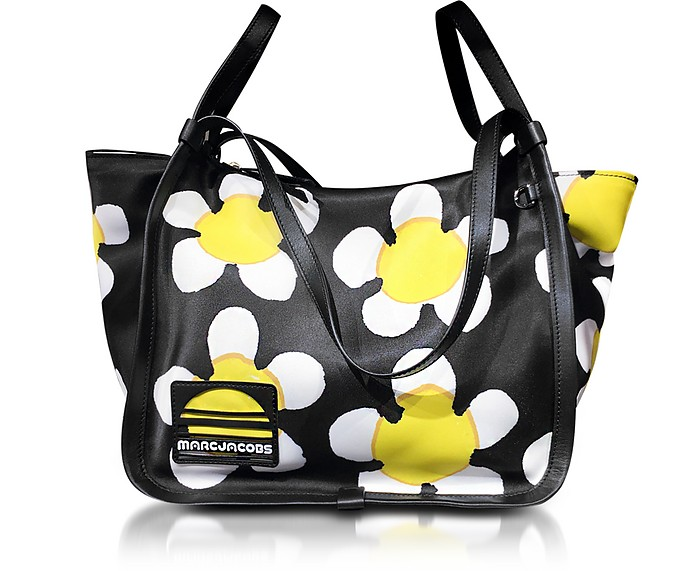 Black and Yellow Daisy Sport Tote - Marc Jacobs