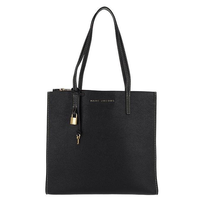The Grind Shopper Tote Bag Black/Gold - Marc Jacobs