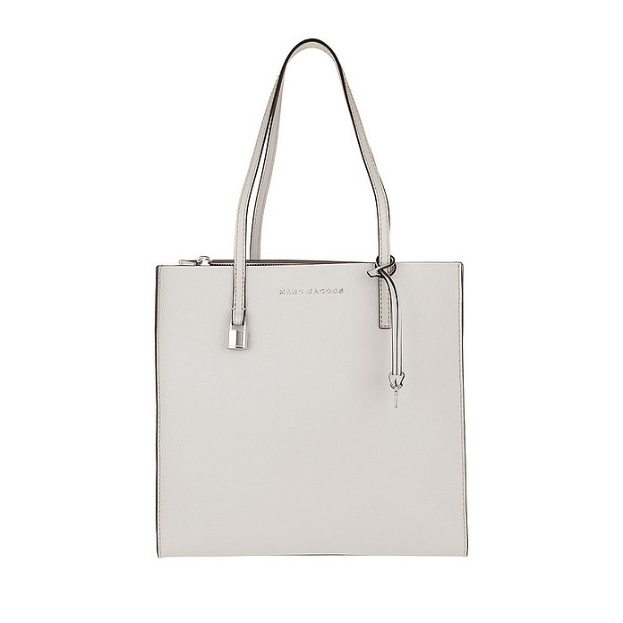 79852ee60 Marc Jacobs The Grind Shopper Tote Bag Ghost Grey at FORZIERI