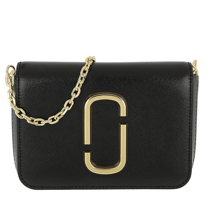 Logo Strap Hip Shot Bag Black/Multi - Marc Jacobs
