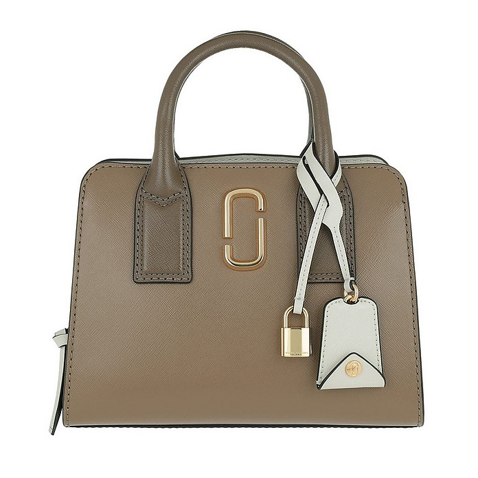 Little Big Shot Bag French Grey/Multi - Marc Jacobs