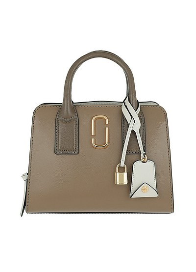 Little Big Shopt Bag French Grey/Multi - Marc Jacobs