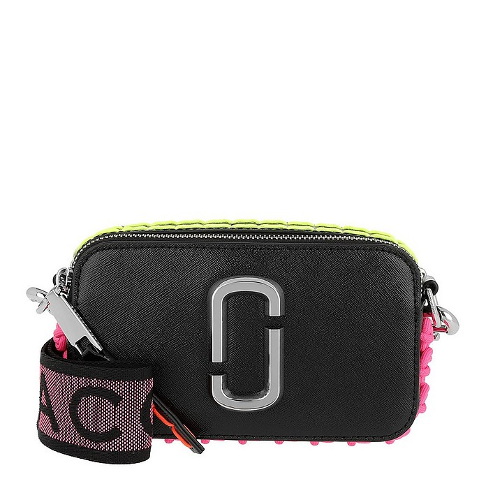 Whipstitched Snapshot Small Camera Bag Black - Marc Jacobs