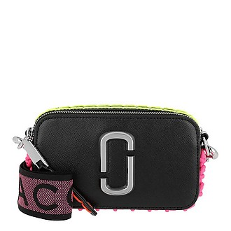 f36e62585497 Whipstitched Snapshot Small Camera Bag Black - Marc Jacobs