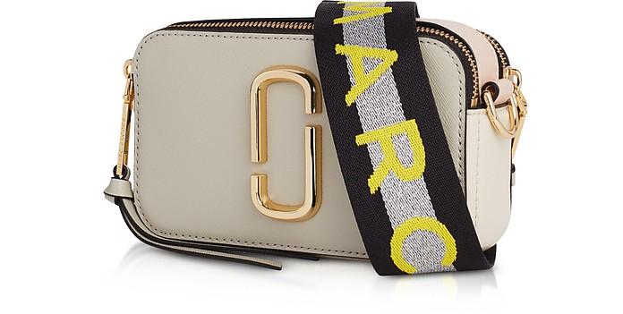 4a2693487437 Marc Jacobs Logo Strap Snapshot Small Camera Bag at FORZIERI