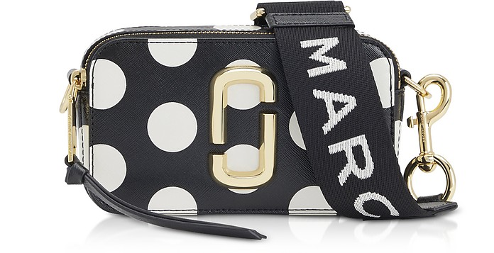 Ultramoderne Marc Jacobs Black Dot Snapshot Small Camera Bag at FORZIERI ZZ-03