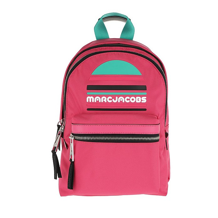 Trek Pack Sport Logo Medium Backpack Peony - Marc Jacobs / マーク ジェイコブス