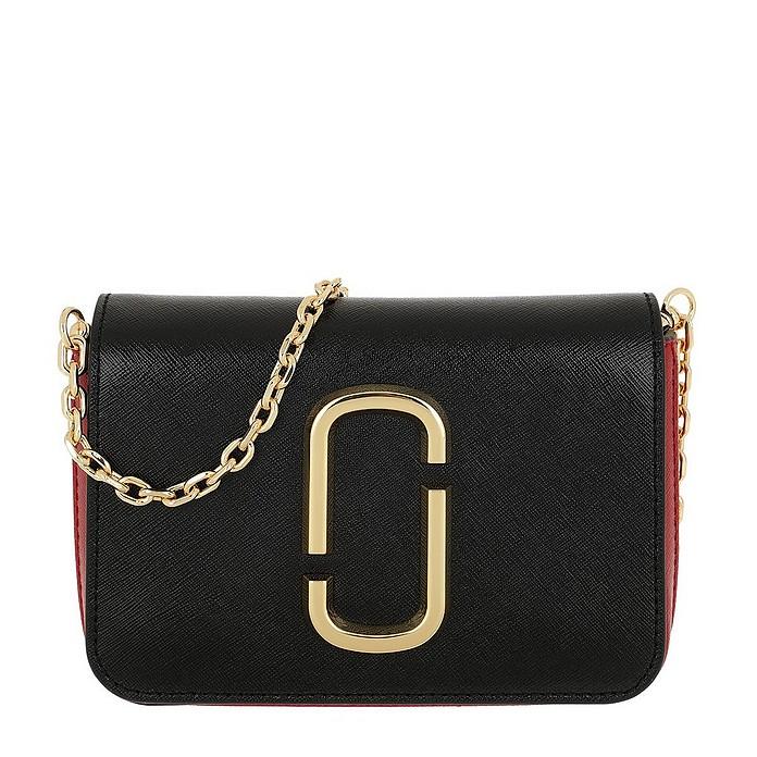 Hip Shot Bag Black/Red - Marc Jacobs