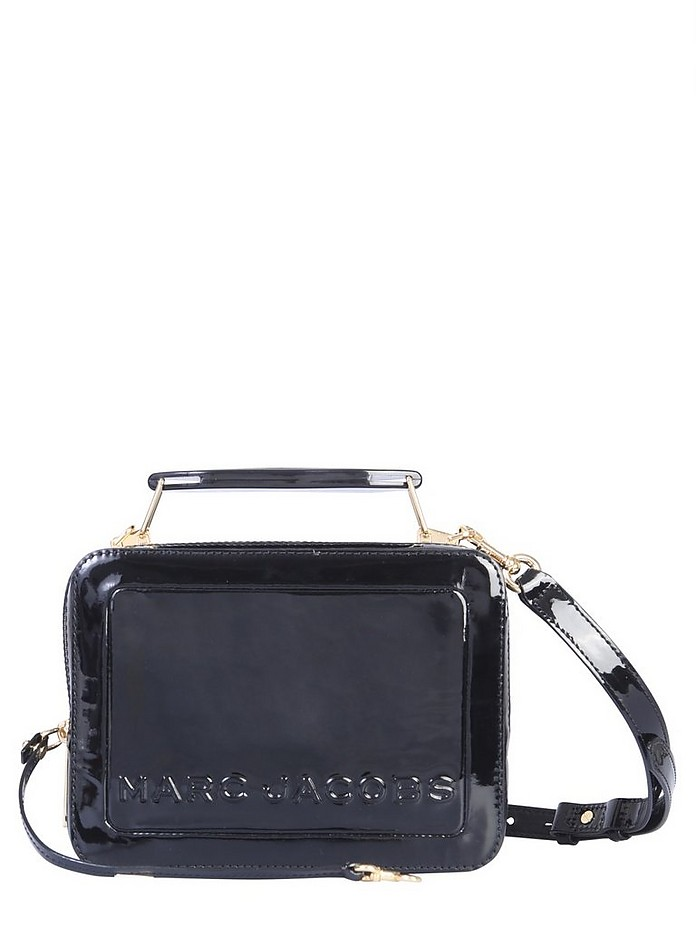 THE PATENT BOX BAG - Marc Jacobs