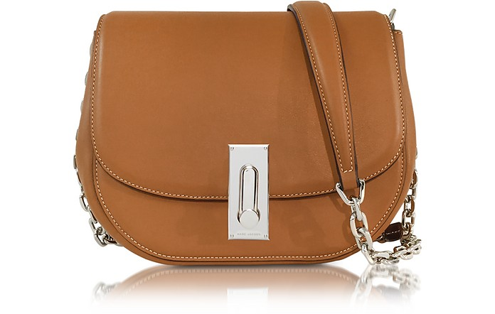 c5e5061a8fe4 Marc Jacobs West End Jane Maple Tan Leather Shoulder Bag at FORZIERI