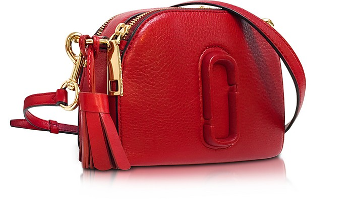 cd495e78a44d Twitter · Pinterest · Share on Tumblr. Shutter Lava Red Leather Small Camera  Bag ...
