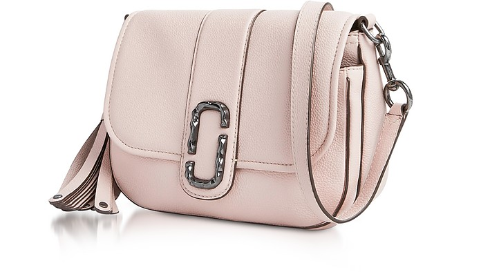 Pale Pink Pebbled Leather Interlock Small Courier Crossbody Bag - Marc  Jacobs. £249.00 £415.00 Actual transaction amount eceb2b65f5b29
