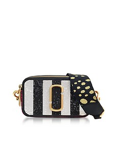 Sequin Striped Snapshot Small Camera Bag - Marc Jacobs
