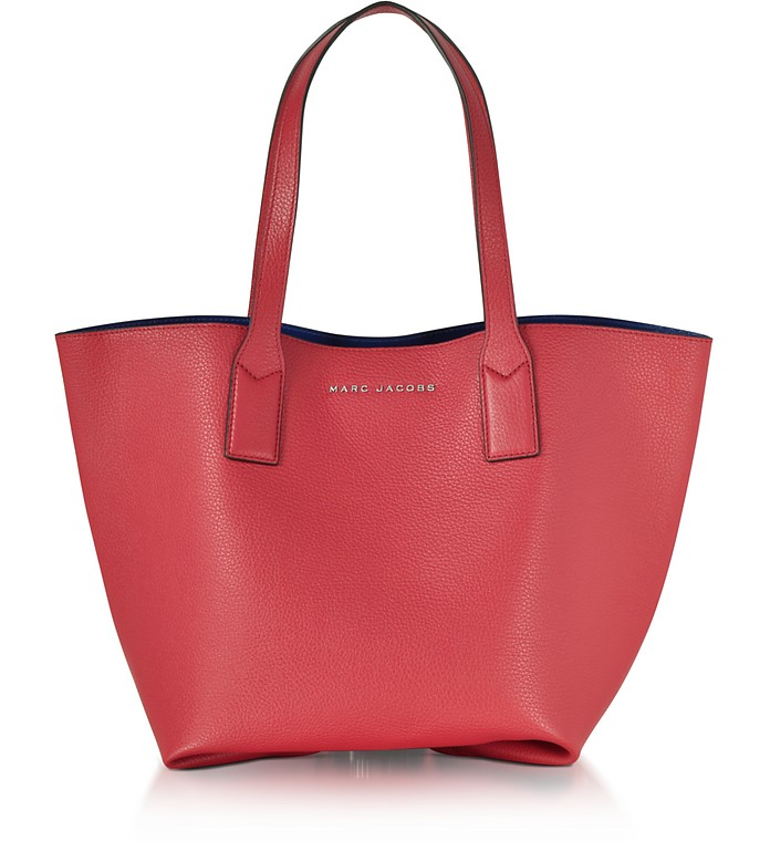 Marc Jacobs Wingman Rose Leather Shopping Bag at FORZIERI