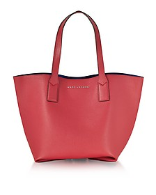 Wingman Rose Leather Shopping Bag - Marc Jacobs