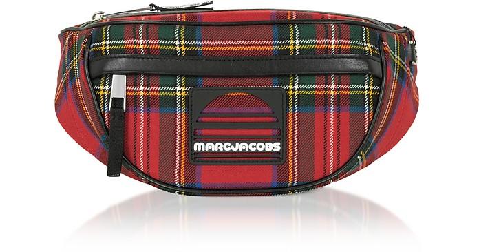 Marsupio Sport Fanny in Tessuto Tartan - Marc Jacobs