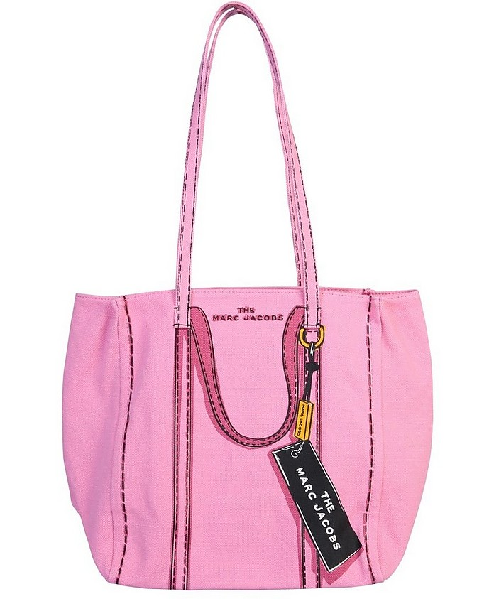 The Trompe L'oeil Tag Tote Bag - Marc Jacobs