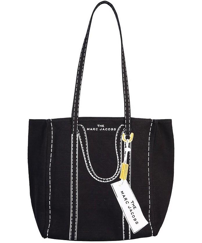 The Trompe L'oeil Tag Tote Bag - Marc Jacobs