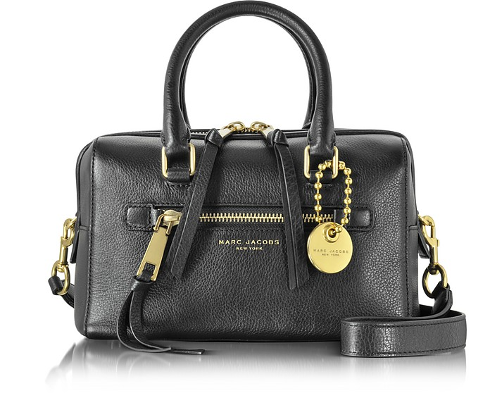 Recruit Leather Small Satchel Bag - Marc Jacobs