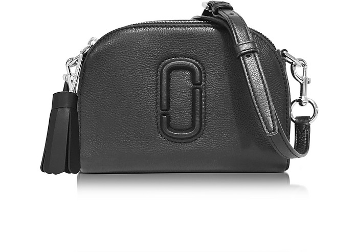 f3fcf0b5c465 Marc Jacobs Shutter Black Leather Small Camera Bag at FORZIERI Canada
