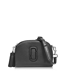 Shutter Black Leather Small Camera Bag - Marc Jacobs