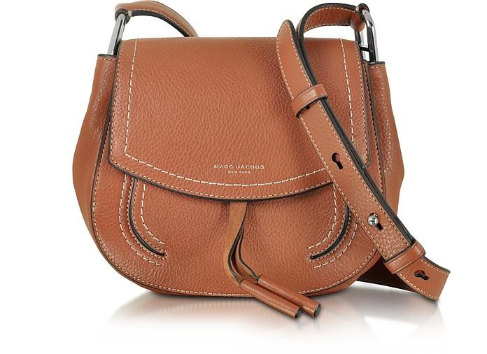 b535e4c8af35 Marc Jacobs Maverick Cognac Leather Mini Shoulder Bag at FORZIERI