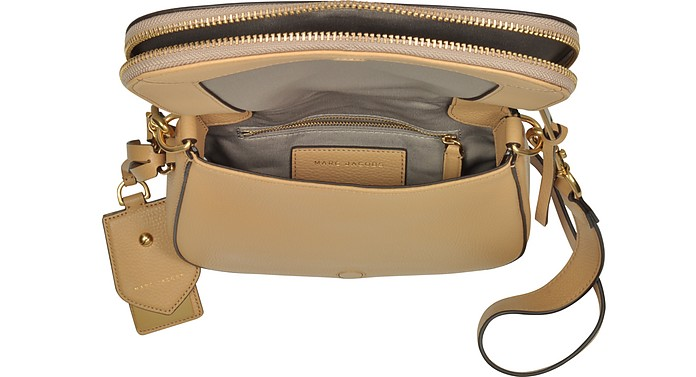 53c306cdd0 Recruit Golden Beige Leather Small Saddle Bag - Marc Jacobs. $246.00  $410.00 Actual transaction amount