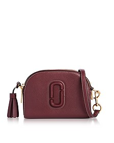 Shutter Blackberry Leather Small Camera Bag - Marc Jacobs