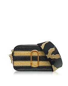 Stripe Glitter Gold Multi Snapshot Camera Bag - Marc Jacobs