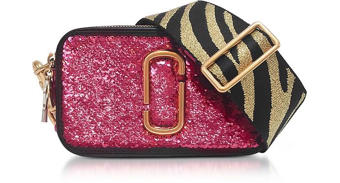 7d1e25964e02 Marc Jacobs Pink Sequin Snapshot Camera Bag at FORZIERI