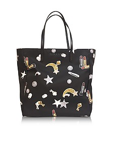 Tossed Charms Printed Shopping Bag - Marc Jacobs