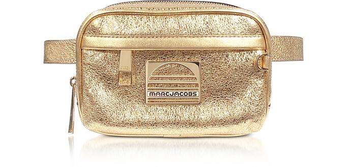 Gold Leather Sport Belt Bag - Marc Jacobs