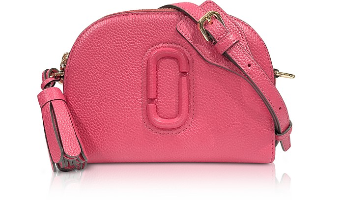 Shutter Peony Leather Small Camera Bag - Marc Jacobs