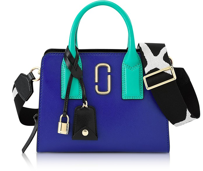 Marc Jacobs Blue Strap Little Big Shot Tote Bag at FORZIERI Canada 96486a8c6f487