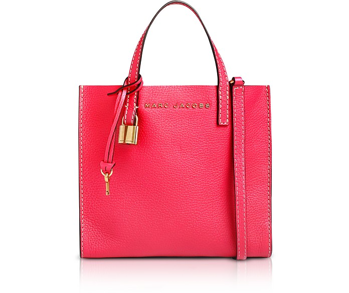 The Grind Mini Leather Tote Bag - Marc Jacobs