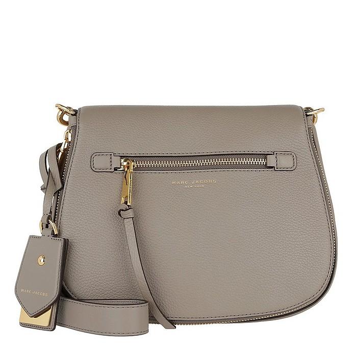 459390a31af Marc Jacobs Recruit Saddle Bag Leather Mink at FORZIERI