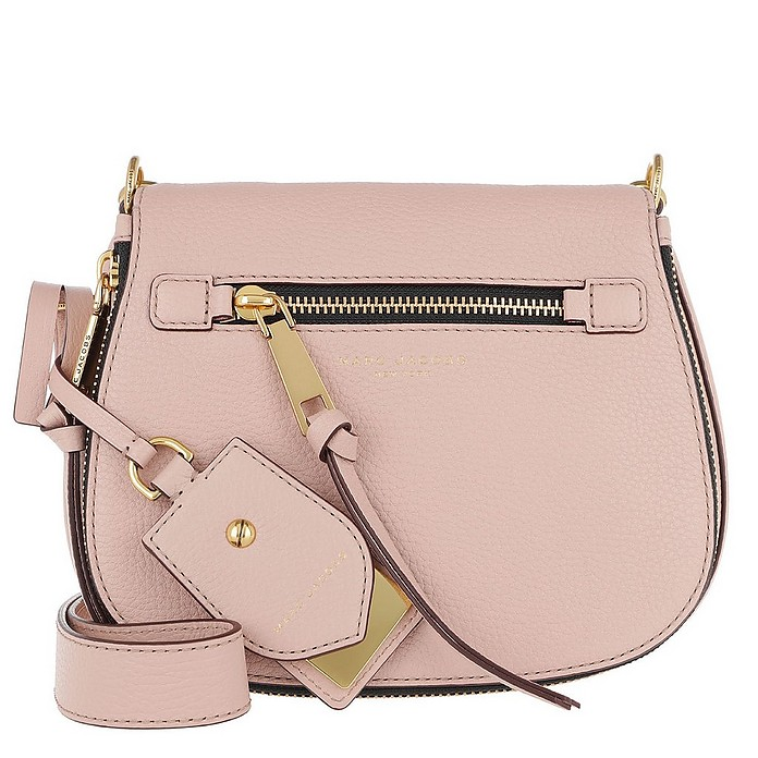 632feebd9a Marc Jacobs Recruit Small Saddle Shoulder Bag Rose at FORZIERI