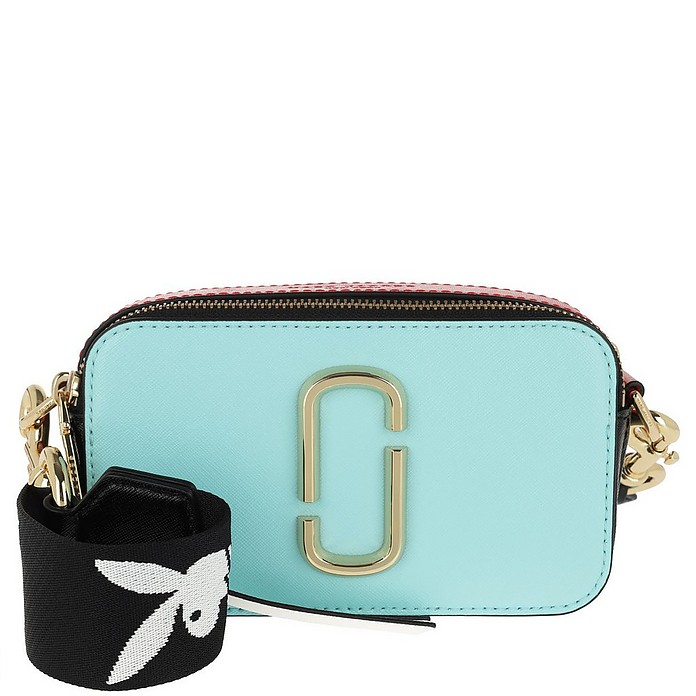 643928dbc882 Marc Jacobs Snapshot Small Camera Bag Turquoise at FORZIERI