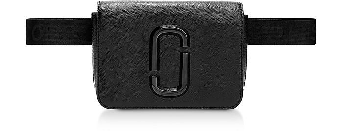Black Leather Hip Shot Belt Bag - Marc Jacobs / マーク ジェイコブス