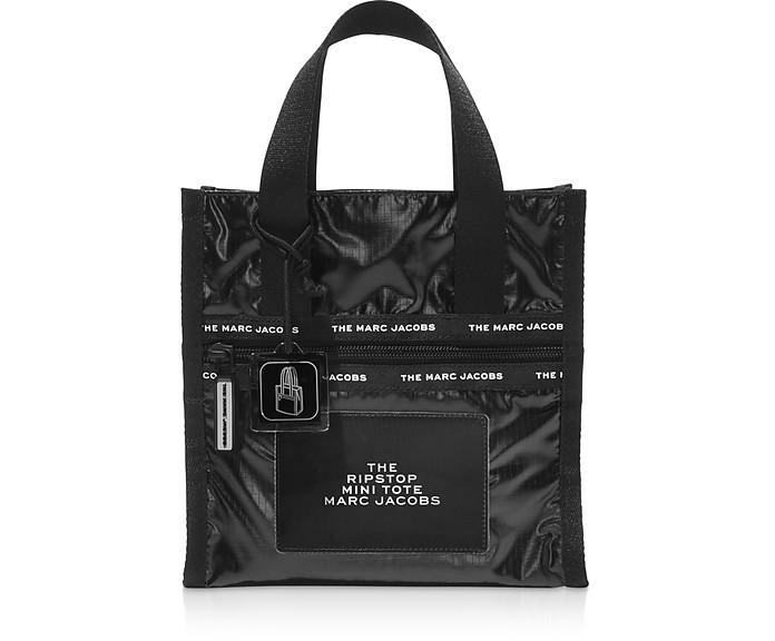 The Ripstop Black Nylon Mini Tote - Marc Jacobs