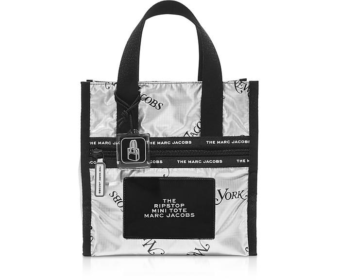 Ripstom New York Mag Mini Shopper Argento  - Marc Jacobs