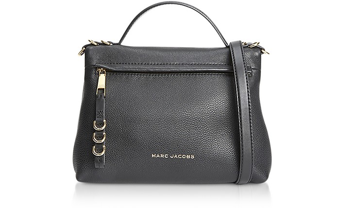 The Two Fold Black Satchel - Marc Jacobs