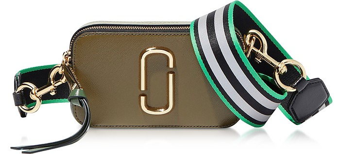 Snapshot Small Camera Bag in Pelle Color Block - Marc Jacobs