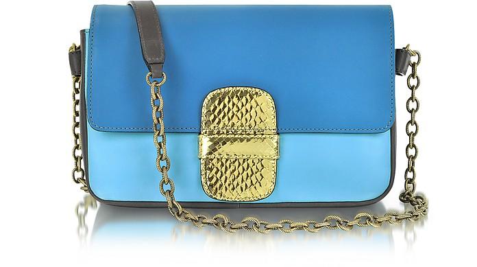 Rose Leather Shoulder Bag - Marc Jacobs