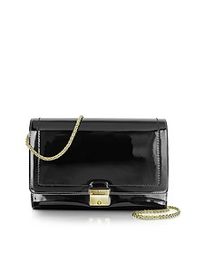 All in One Patent Leather Clutch