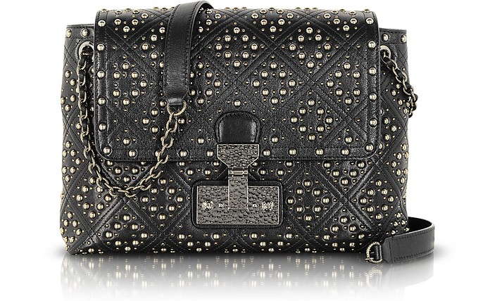 af674b476388 The Large Single Baroque Quilted Studded Leather Shoulder Bag - Marc Jacobs