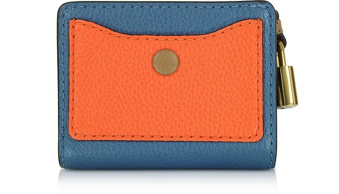 The Grind Mini Portafoglio Compatto in Pelle Colorblock Marc Jacobs LunyjN